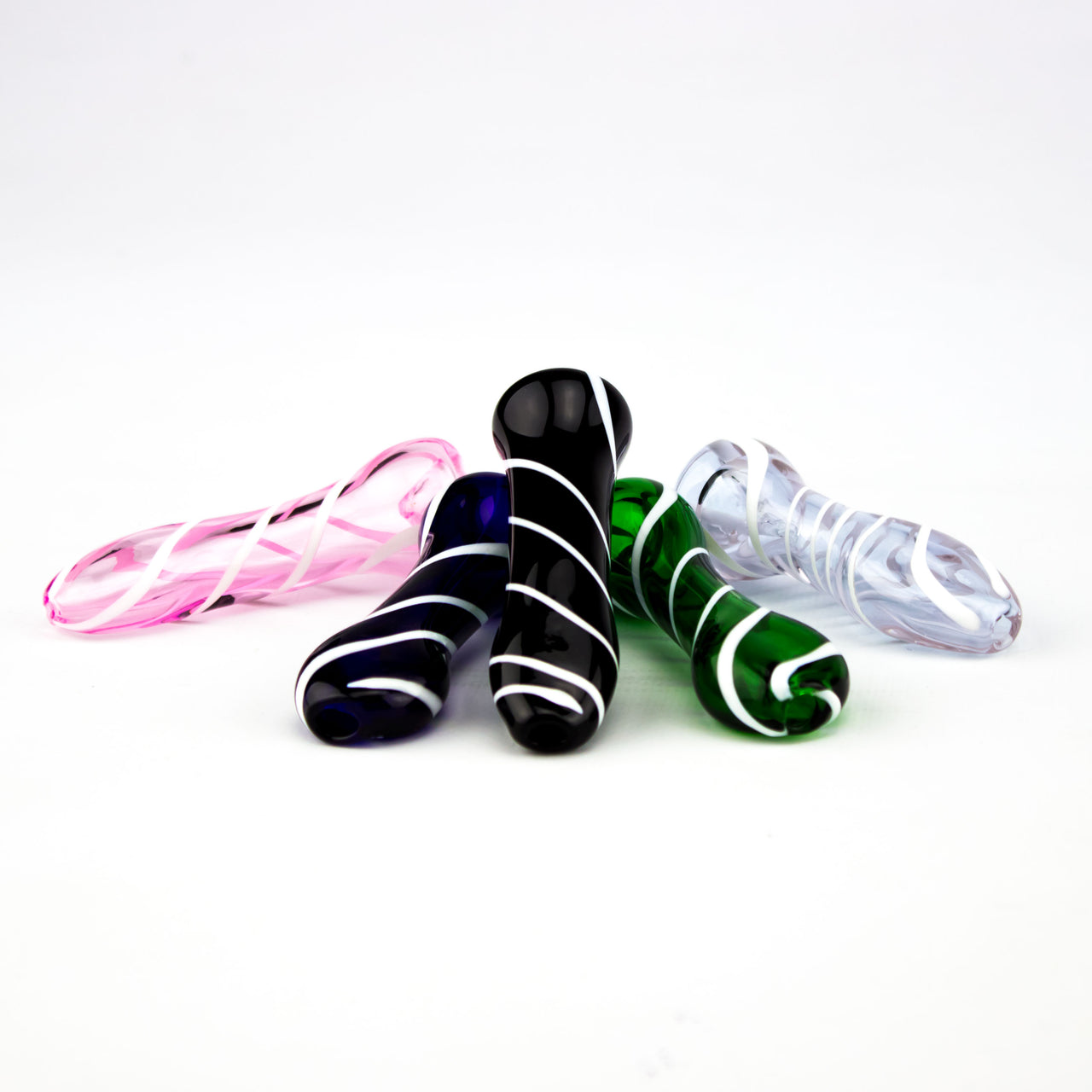 Colour With White Stripes Pipe