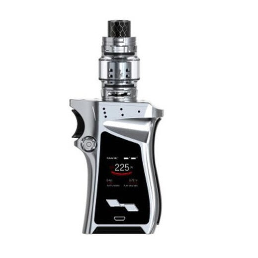 SMOK Mag Kit 225W with TFV12 Prince Silver & Black,Standard Edition-Right