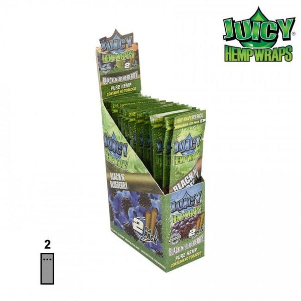 Juicy Jay Hemp Wraps 2/Pack