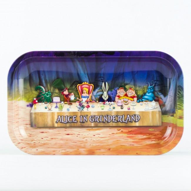 Rolling Tray Alice in Grinderland 2 Large