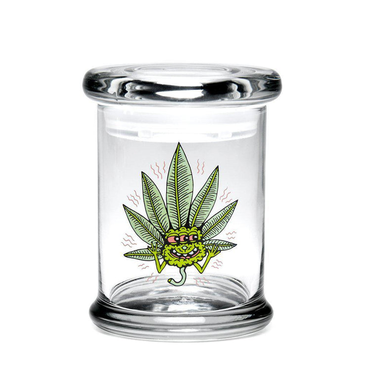 420 Jar Happy Leaf