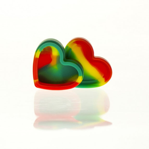 Silicone Conatiner Heart 18ml
