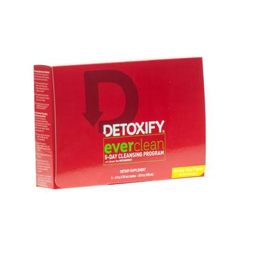 Detoxify Ever clean 5 day cleansing 5 - 4oz  Honey Tea Flavour