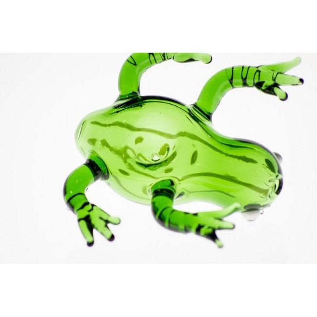 Striped Frog Pipe