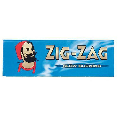 Rolling Papers Zig Zag Cut Corners Blue - $0.66 OFF
