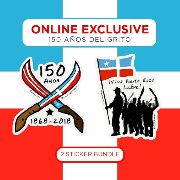 150 Años del Grito - 2 Sticker Bundle (Premium Sticker)
