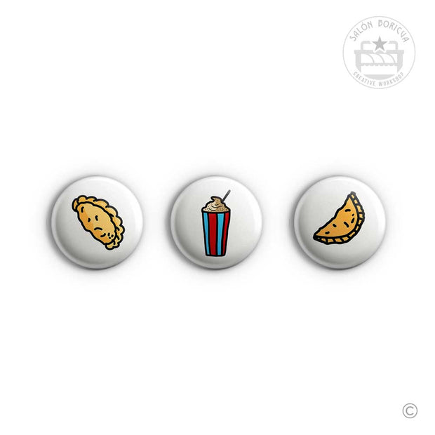 3-Pack: #1 Empanadilla x Iceee x ¿Pastelillo? (Mini-Pins)