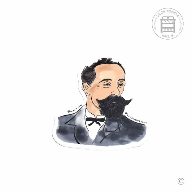 Eugenio María de Hostos (Premium Sticker)