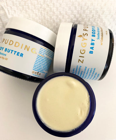 Ziggy's pudding baby body butter 3jars