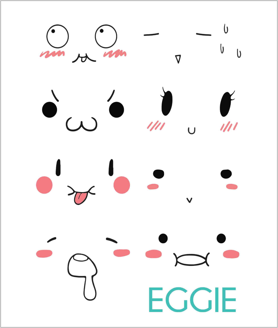 Waterproof Emoji Sticker [A MUST-HAVE FOR EGGIE]