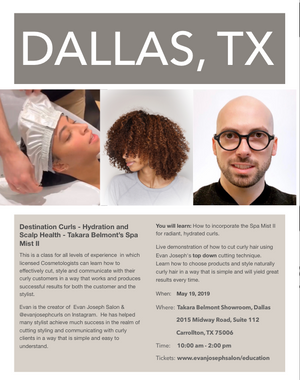 Destination Curls - Dallas, Texas   -   May 19th, 2019