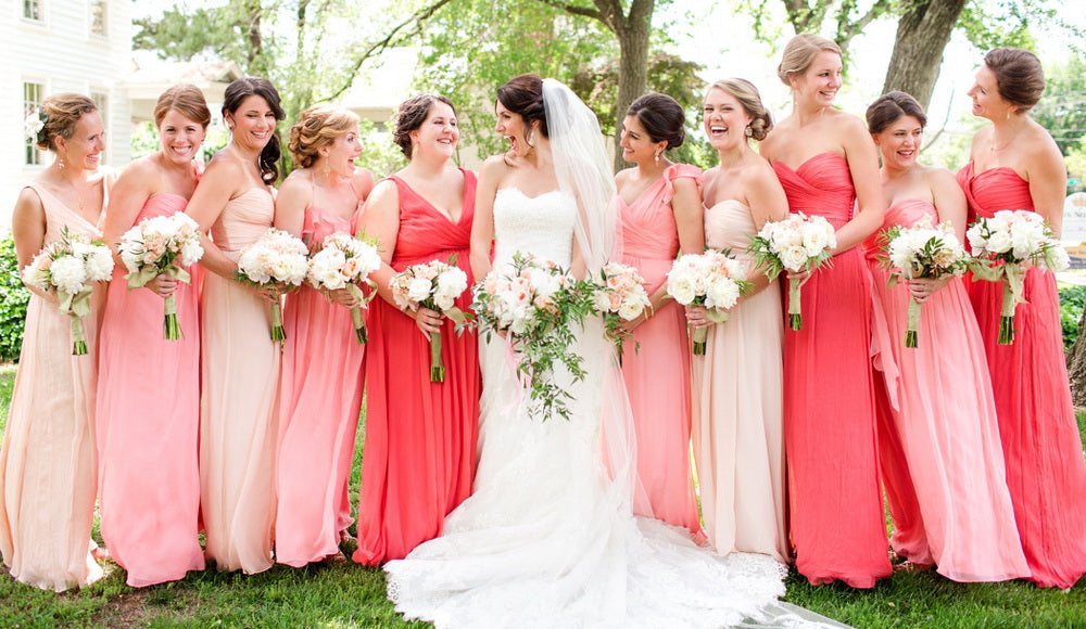 Amazing And Unexpected Bridesmaid Dress Color – Angrila