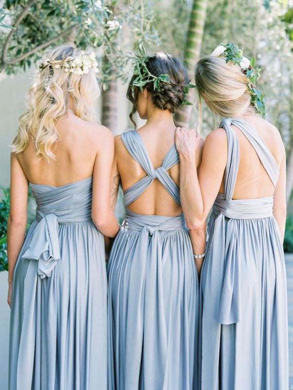 Convertible Infinity Wrap Bridesmaid Dresses