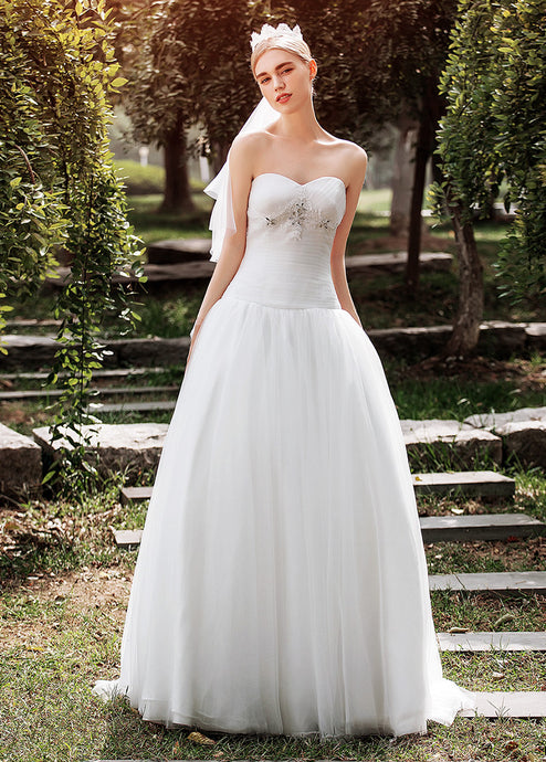Sweetheart Ball Gown Bridal Dress