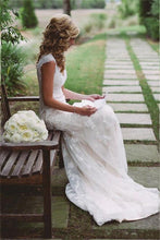 Mermaid Open Back Lace & Tulle Bridal Gowns