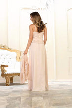 Long Plus Size Mother Of The Bride Formal Dress
