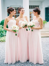 Simple Sweetheart Bridesmaid Dresses