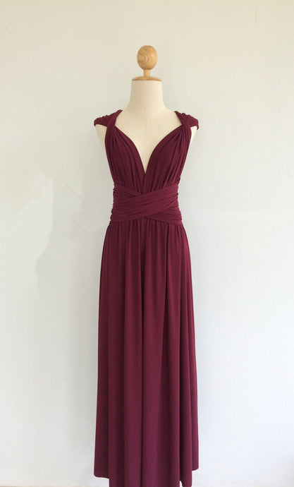 Convertible Design Bridesmaid Dress