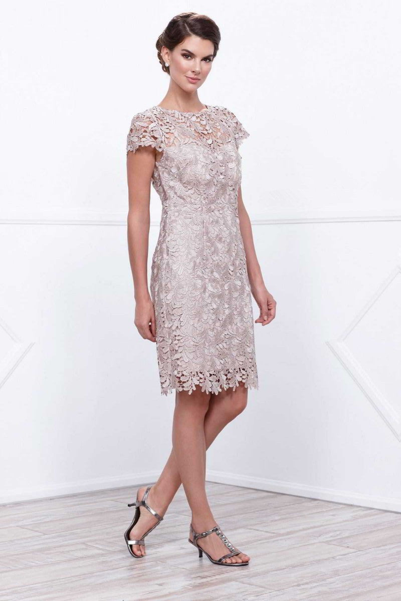 Short Length Lace Mother Dress