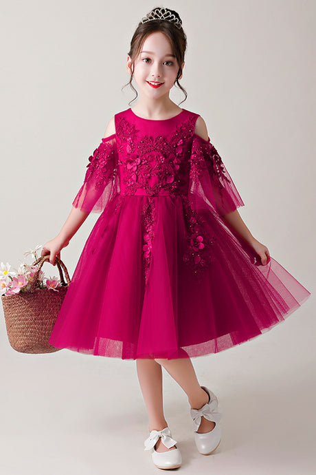 Tutu Girl Dresses with Flowers