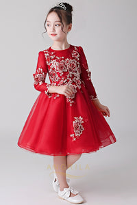 Flower Girl Dresses with Long Sleeves