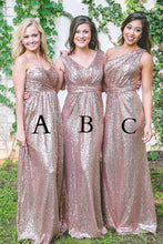 Dazzling Sequined Bridesmaid Dress