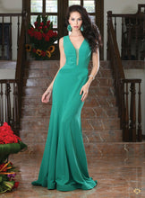 Long Fitted Prom Formal Dress Mother of the Bride Dress