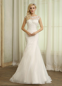Modest Mermaid Bridal Dresses