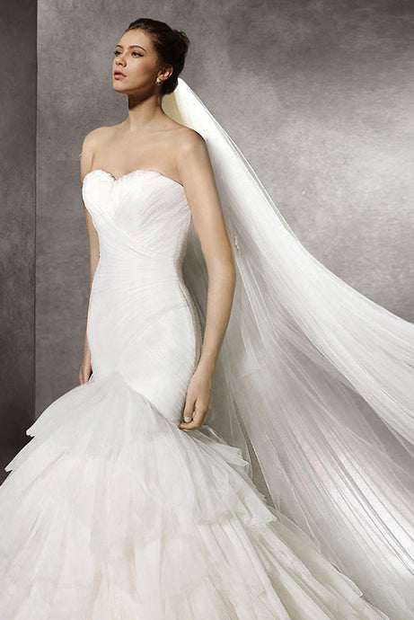Strapless Mermaid Sweetheart Wedding Dresses
