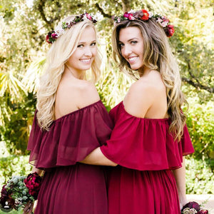 Amazing Chiffon Bridesmaid Dresses