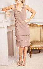 A-Line Knee-Length Mother of the Bride Dresses ( Jacket included)