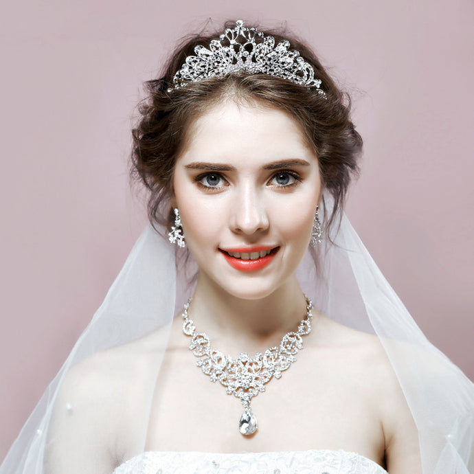 Luxury Bridal 3-Piece Jewelry Set