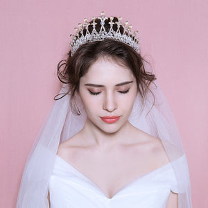 Queen Tiara Bridal Headpiece
