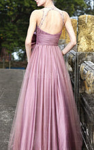 Trumpet/Mermaid High Neck Floor Length Backless Dress