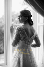 Embroidered Silk Organza Wedding Dresses