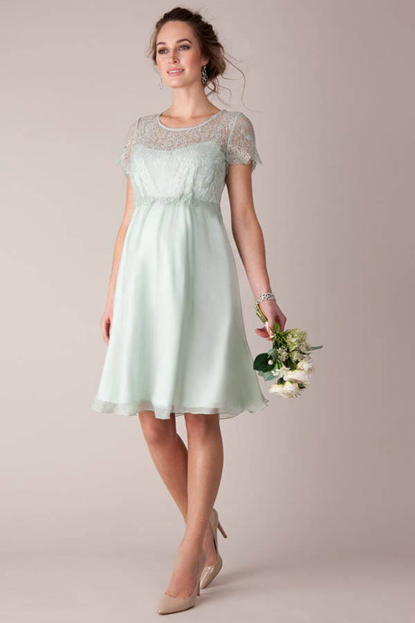 Chiffon Knee-Length Maternity Bridesmaid Dresses