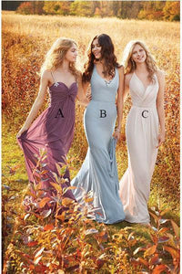 Modest Long Bridesmaid Dresses