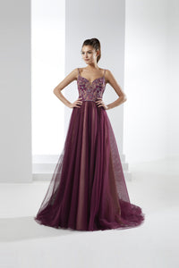 Marvelous Tulle Sleeveless Sweetheart Evening Dresses