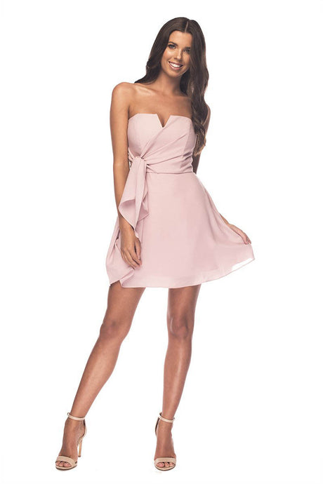 Strapless Mini Cocktail Dresses