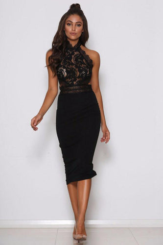 Sexy Lace Back Zipper Closure Cocktail Dresses