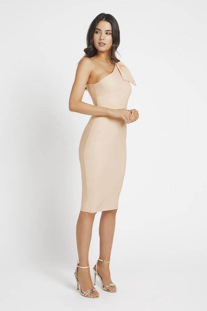 Elegant Sheath/Column One-Shoulder Cocktail Dresses