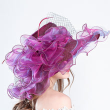 Summer Organza Fashionable Cap