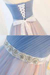 A Line Sweetheart Prom Dress with Bows