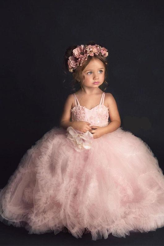 Ball Gown Cute Flower Girl Dresses