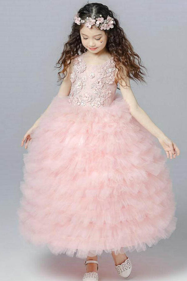Ball Gown Flower Girl Dresses – Angrila