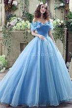 Ball-Gown/Princess Scoop Neck Floor Length Chiffon Prom Dress