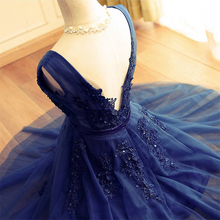 A-line Sleeveless Lace Appliques Short Tulle Prom Dresses