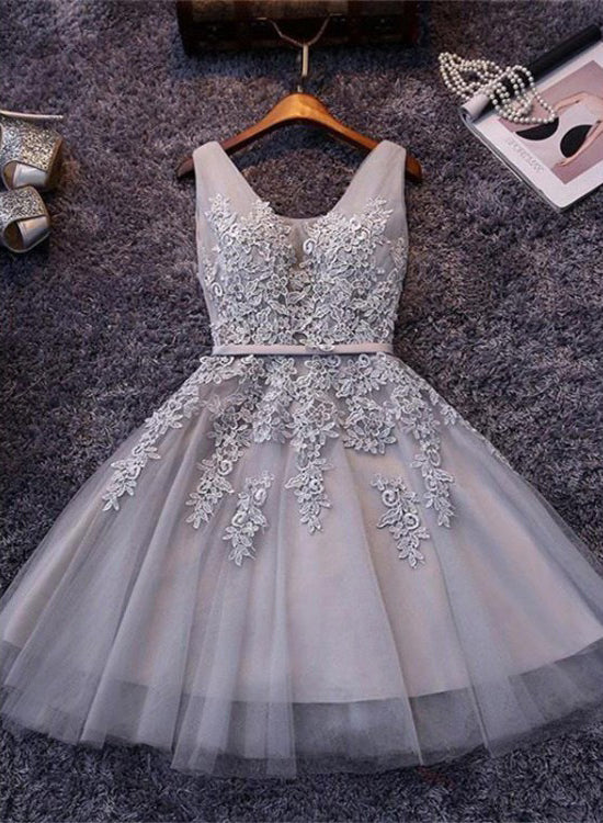 Short Tulle Prom