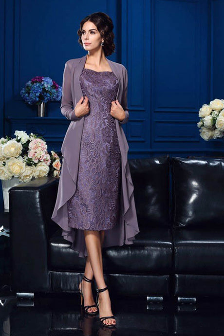 Royal Purple Mother of the Bride Dresses