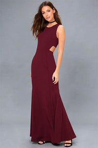 Trumpet/Mermaid Scoop Neck Long Evening Dress
